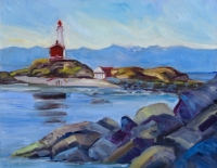 FISGARD LIGHTHOUSE - SUMMER