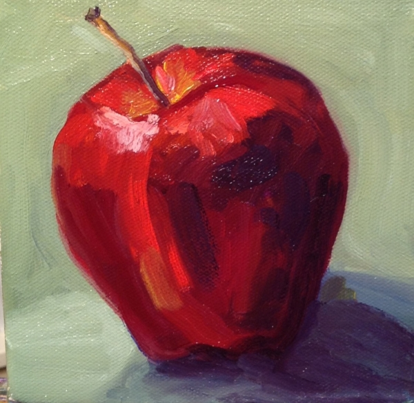 Red with Green