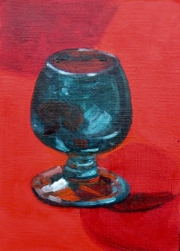GLASS ON RED STUDY